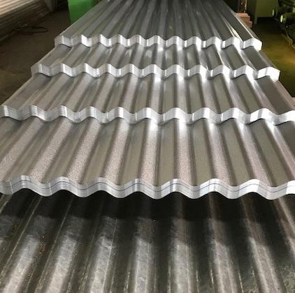 Corrugated Aluzinc sheeting